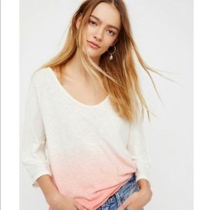 NWT Free People Strawberry Top. Size Large
